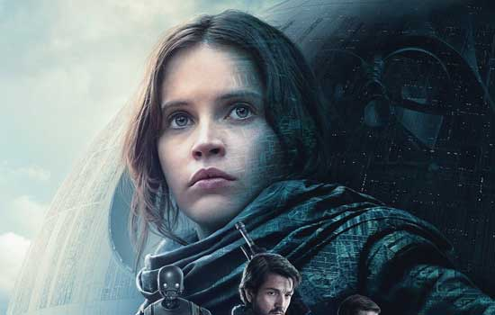 Star Wars rogue one filmposter