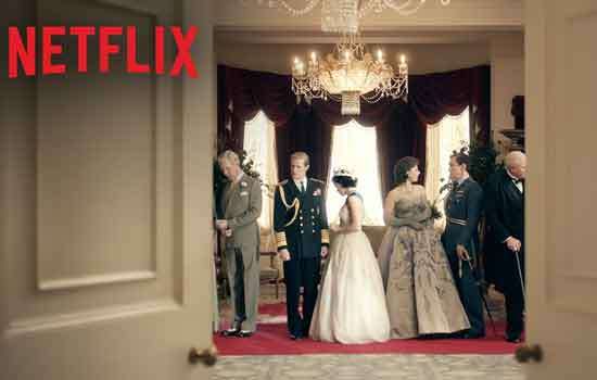 The crown is de nieuwe serie van Netflix