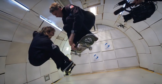 Video: Tony Hawk doet zonder zwaartekracht zijn beste trick ooit