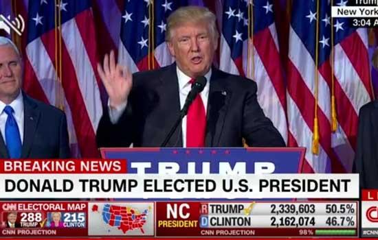 Donald Trump wint, iedereen wil weg uit VS