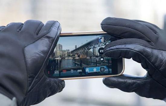 Zo bedien je je telefoon met je handschoenen aan