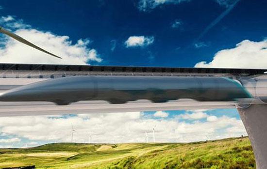 Zo zou de Hyperloop er ongeveer uit moeten zien