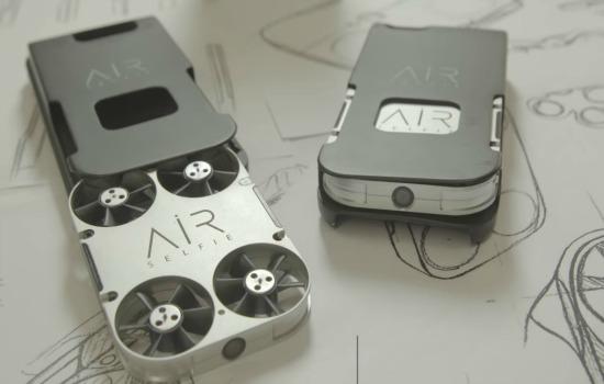 Met deze drone kun je eenvoudig selfies maken