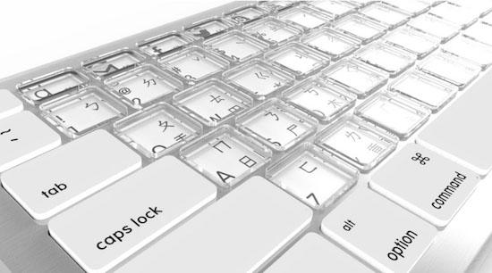 nieuw sonder toetsenbord apple