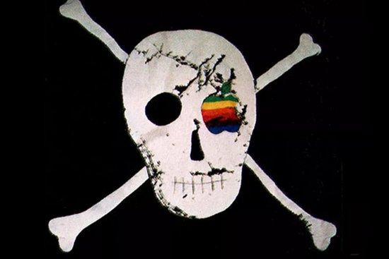 Apple Pirate flag