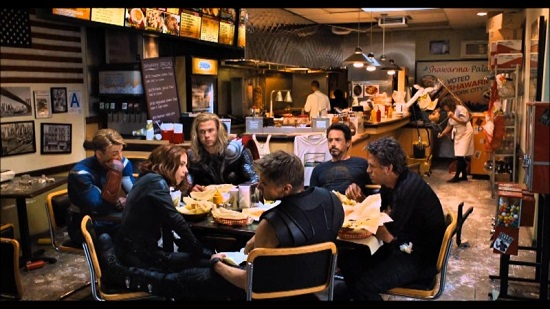 Avengers meeting