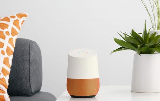 Google Home is slim en kleurrijk