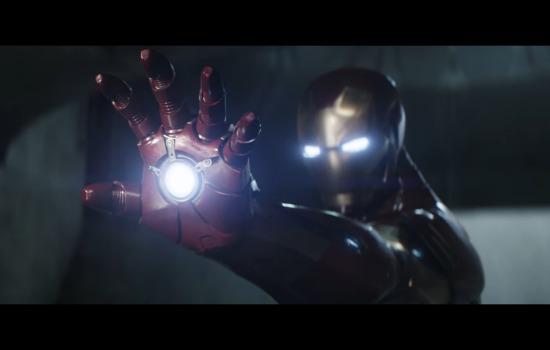 Iron Man klaar om te vechten