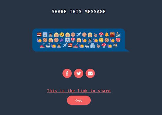 Zo stuur je geheime berichten met emoji