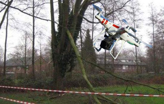 Hallo drone, dag boom