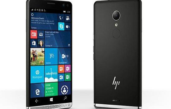 De HP Elite x3 smartphone