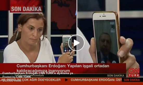 Erdogan Facetime