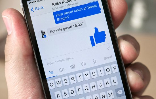 Games in Facebook messenger