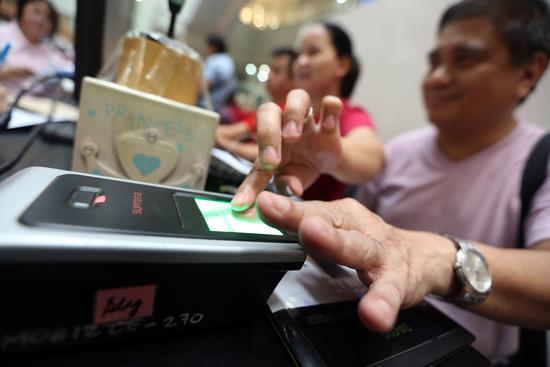 Stemmen in Manilla