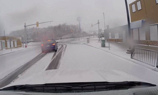 Ford sneeuw