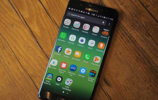 Over en uit met de Samsung Galaxy Note 7