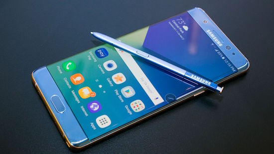 providers stoppen galaxy note 7