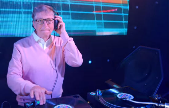 God, eh Gates is a DJ