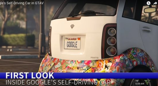 GTA Google Car