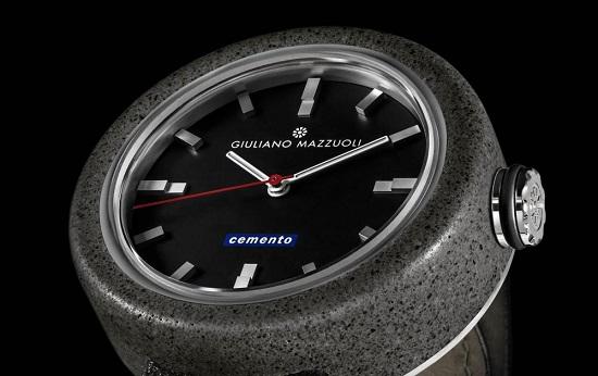 Horloge Om de cemento is het eerste horloge van cement - apparata