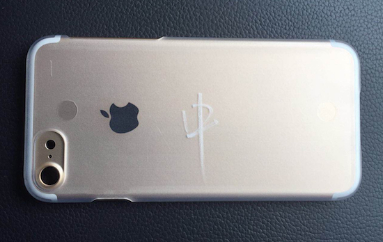iPhone 7 met grotere cameralens