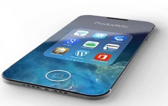 Een mockup van de iphone 8 c:Fabnewz.com