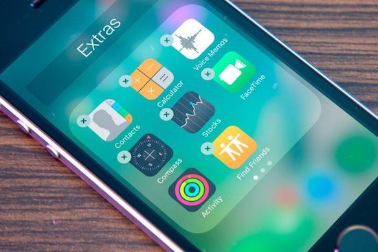 ios 10 standaard apps