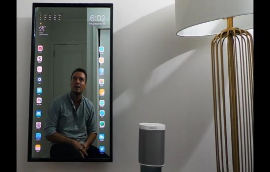 Deze iPad-achtige spiegel wil je hebben!