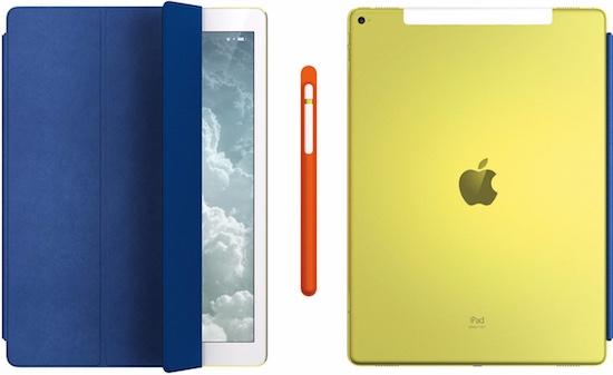 iPad Pro geel