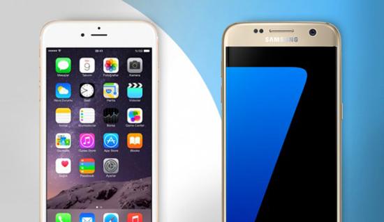Samsung Galaxy S7 verkoopt beter dan iPhone 6s