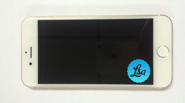 iPhone 7 goud voorkant