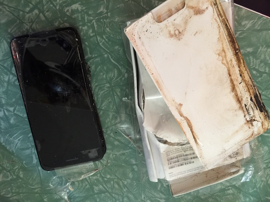 iphone 7 ontploft
