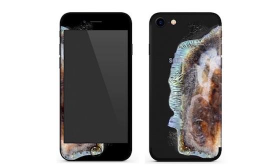 iphone case ontplofte note 7