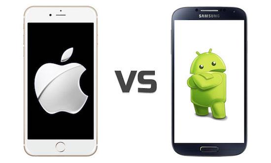 Citaten Strijd Android : Iphone vs android de grootste voor en nadelen vergeleken