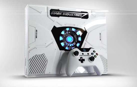 Wil jij deze Xbox One in Iron Man-stijl?
