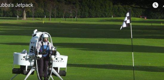 Jetpack golf