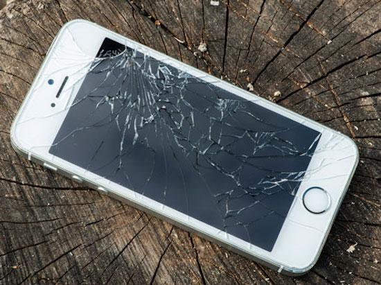 Kapotte iPhone 6