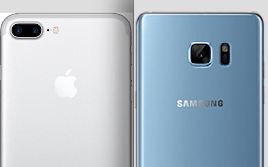 Kies maar: iPhone 7 Plus of Samsung Galaxy Note 7
