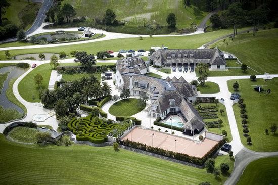 Kim Dotcom mansion