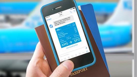 KLM houdt passagiers op de hoogte via Facebook