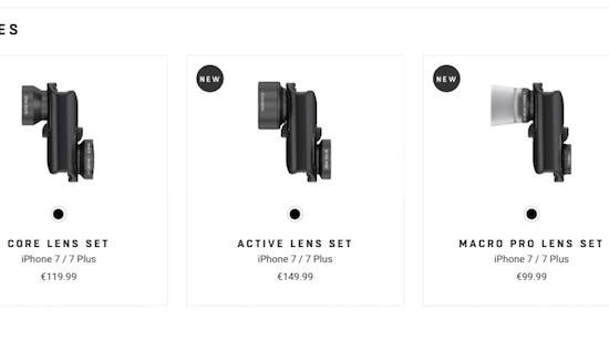 Verbeter de camera van je iPhone 7 met deze lenzen