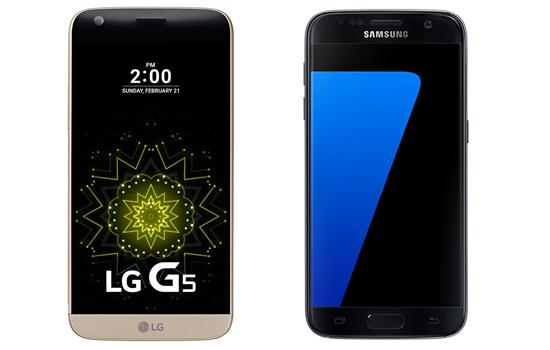 LG G5 vs. Samsung Galaxy S7