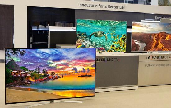 LG lanceert TV met 8K-resolutie