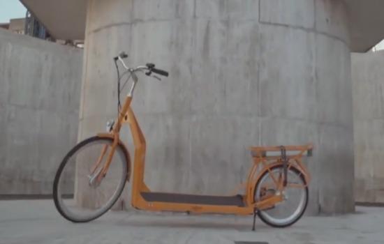 Loop weg met deze e-bike