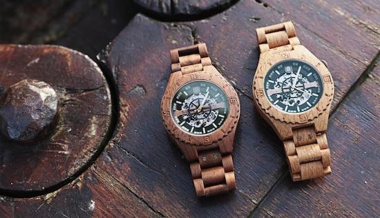 lumbr houten horloge nederland