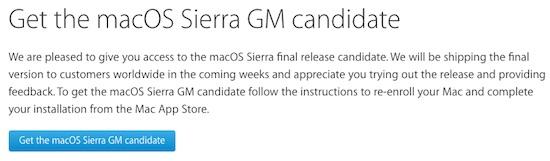 macos sierra beta downloaden