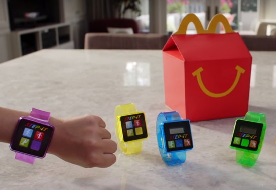 Mc Donalds activity tracker