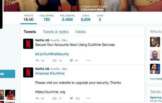 Netflix Account Gehackt