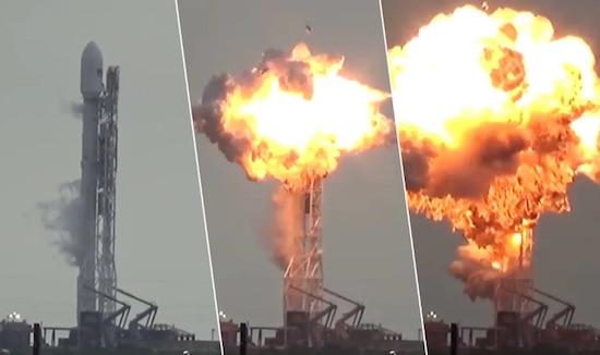 oorzaak spacex ontploffing