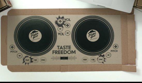 Pizzahut DJ doos